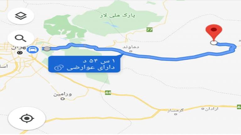 جاده فیروزکوه