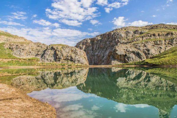 دریاچه روستای لزور