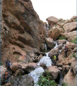 آبشار روستای لزور